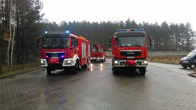 You are browsing images from the article: 29.03.2015r. - Rogoźno, ul. Magazynowa - Alarm z monitoringu pożarowego w Dendro Poland LTD.