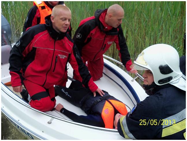 You are browsing images from the article: Ćwiczenia na akwenie wodnym w Budziszewku